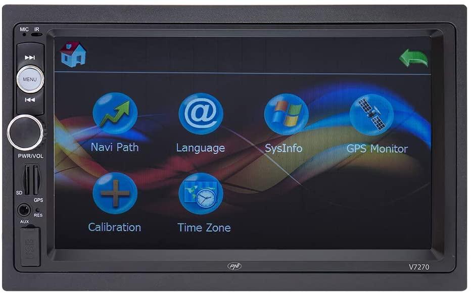 Radio Samochodowe PNI V7270 2DIN 7' GPS radio FM BT AUX USB