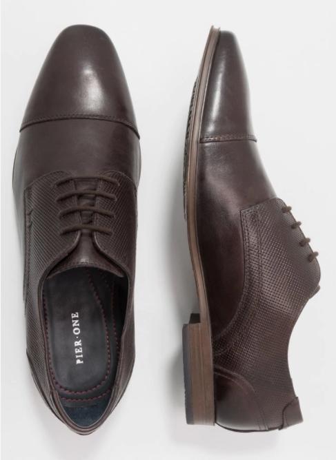 Męskie skórzane buty Pier One w @ZalandoLounge - zestawienie
