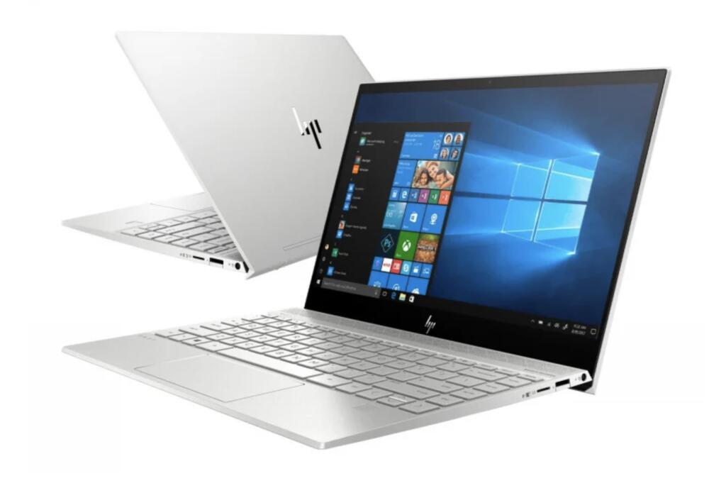 HP Envy 13 i7-10510/16GB/512/Win10 Silver MX250 - x-kom