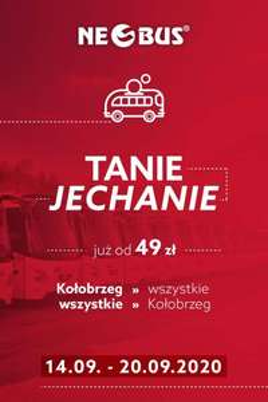 Bilety z/ do Kołobrzegu