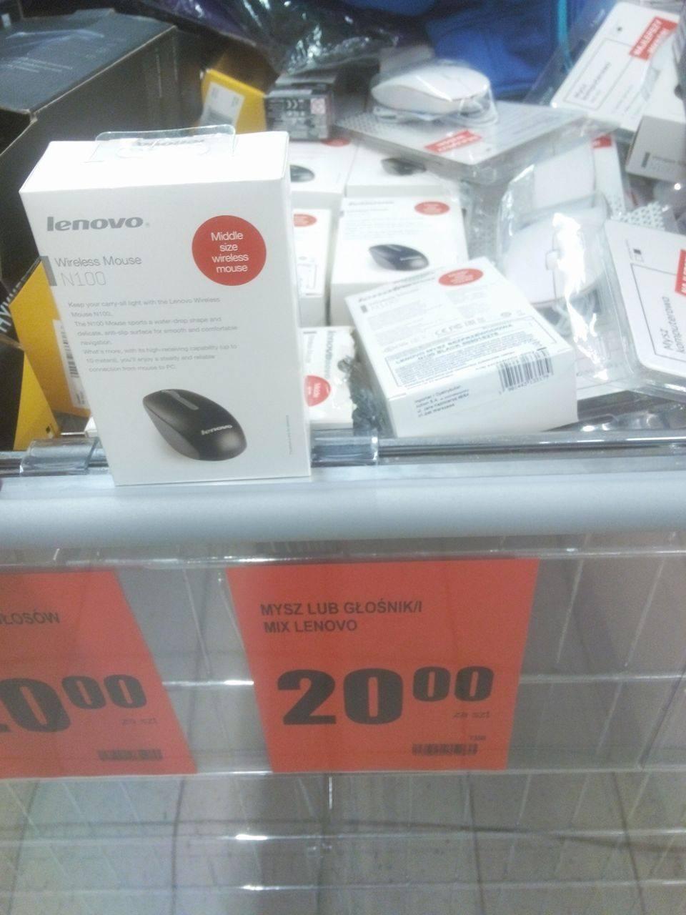 Mysz Lenovo N100 BIEDRONKA