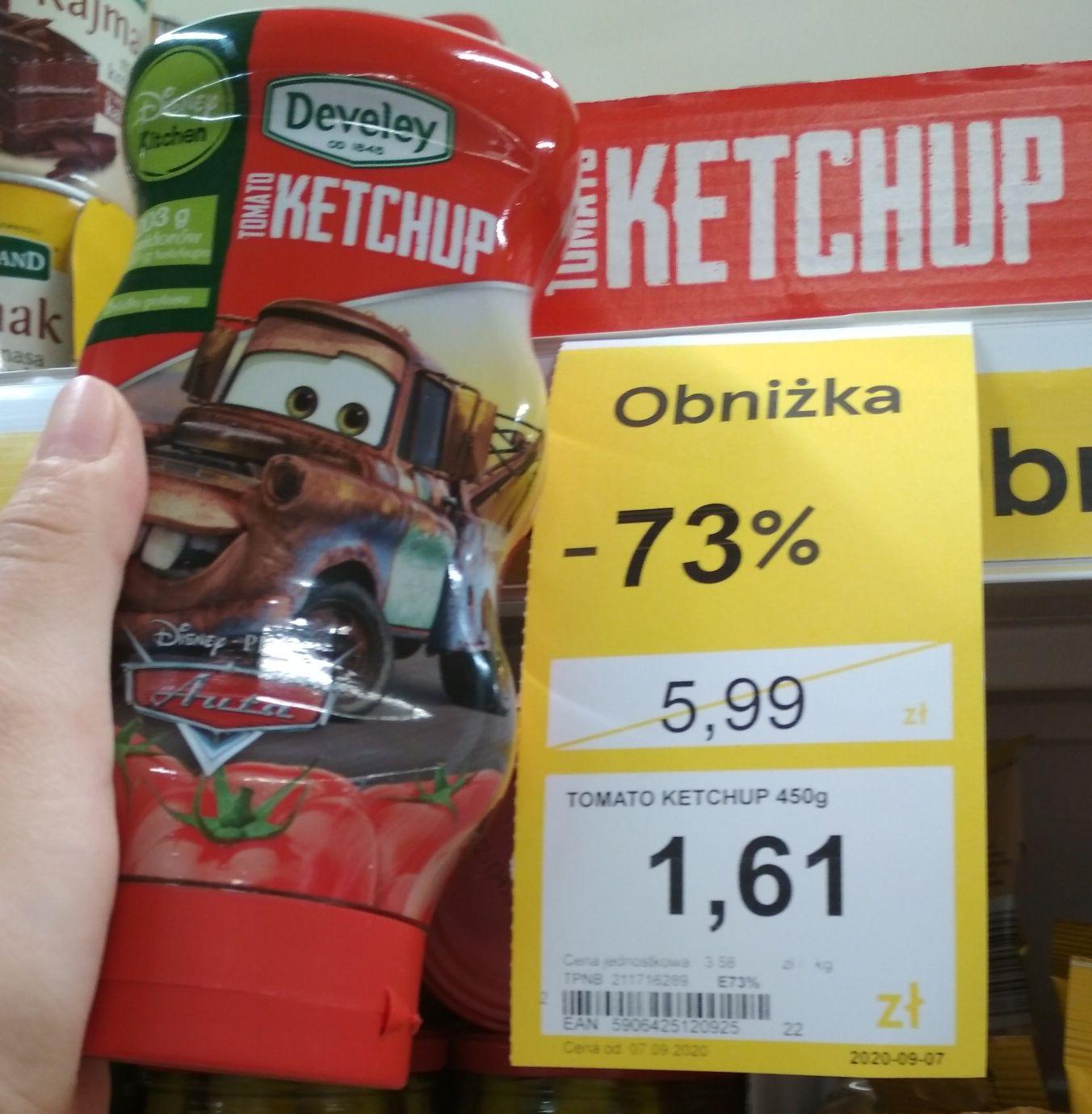 Ketchup develey 450g -73% Tesco Warszawa Młynarska