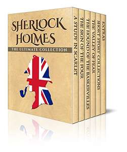 Sherlock Holmes: The Ultimate Collection (Illustrated) - darmowe ebooki