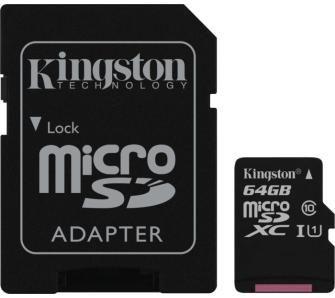 Kingston Canvas Select microSDXC 64GB UHS-I w RTVeuroAGD