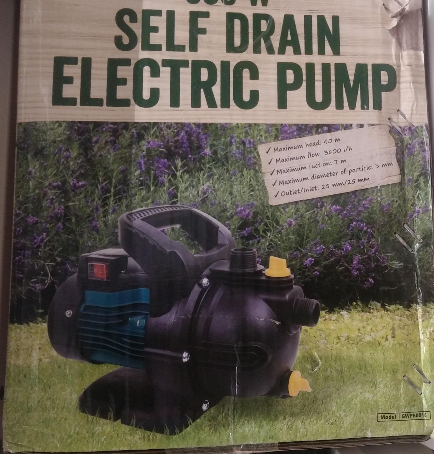 Pompa wodna transmisyjna 800W - Tesco
