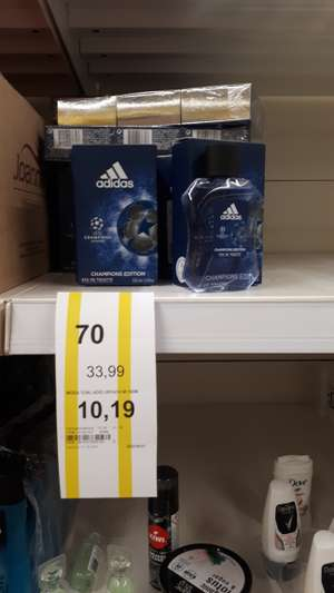 Woda toaletowa adidas Champions League i Team Force - Tesco Extra Gliwice