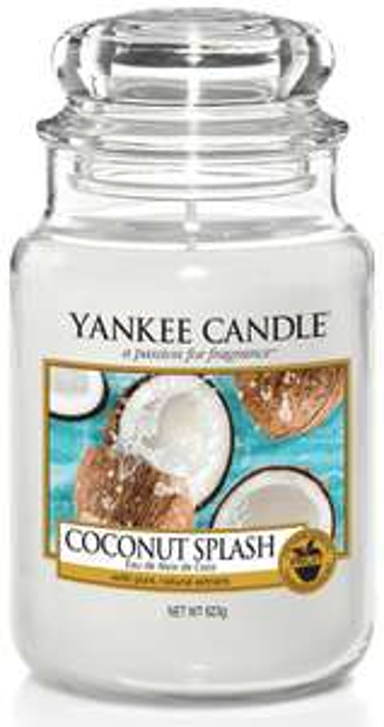 Yankee Candle Coconut Splash Słoik duży 623g