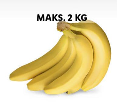 Banany 1kg. Lidl