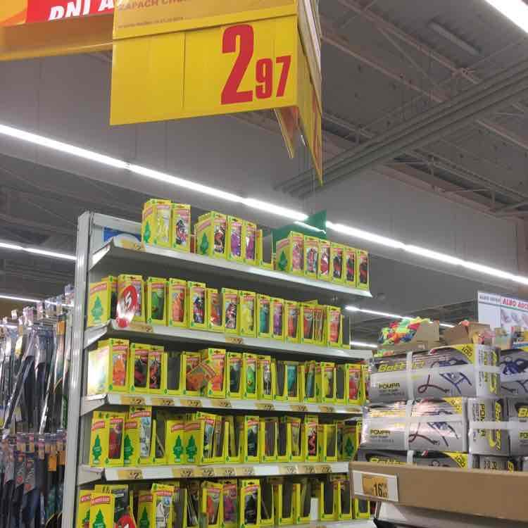 Choinka zapachowa Wunder-Baum za 2,97 @Auchan