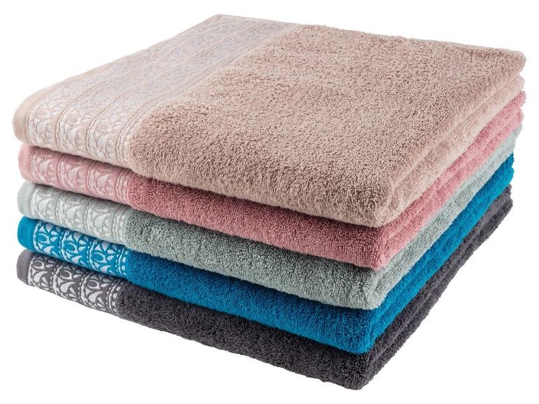 Ręcznik kąpielowy 70x130cm za 19,99zł (trzy kolory) @ Lidl