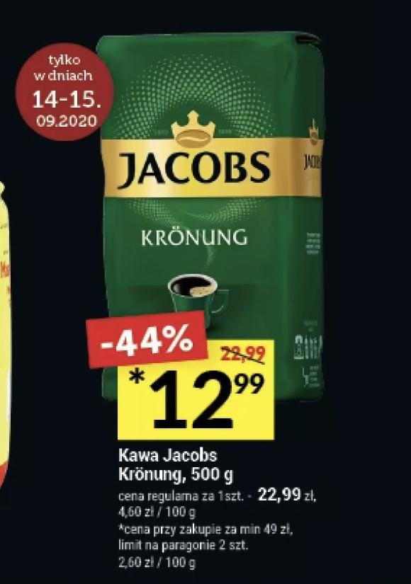 Kawa Jacobs KRONUNG 500g TWÓJ MARKET