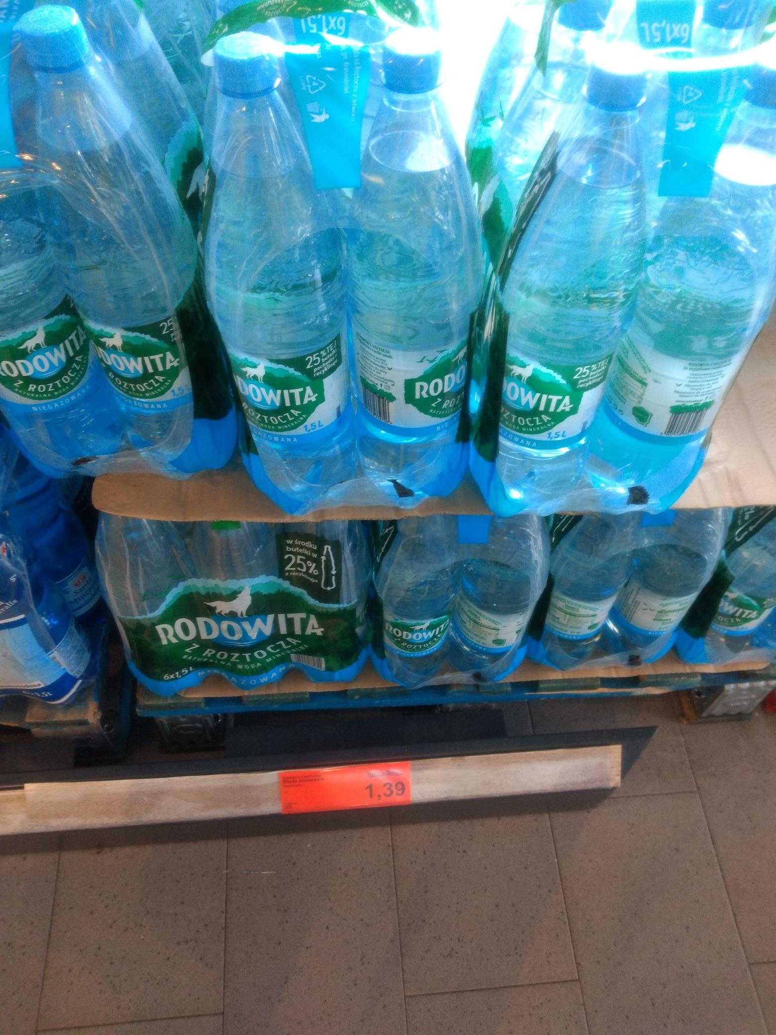 Woda mineralna Rodowita