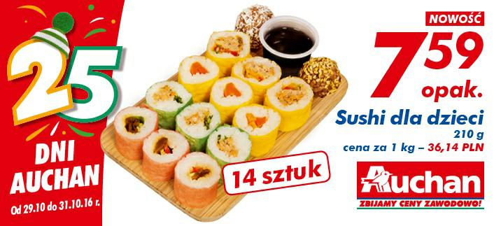 Sushi dla dzieci 210 g/1 opak @Auchan