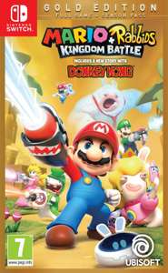 Mario Rabbids Kingdom Battle Gold Edition Nintendo Switch