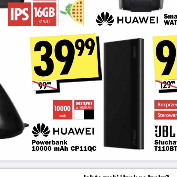 Powerbank Huawei 10000mAh CP11QC