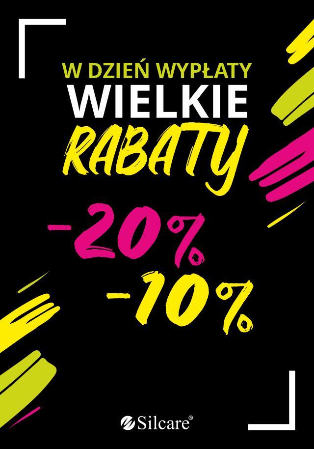 20% rabatu na asortyment drogerii oraz 10% rabatu na urządzenia. Silcare w Galaxy w Szczecinie