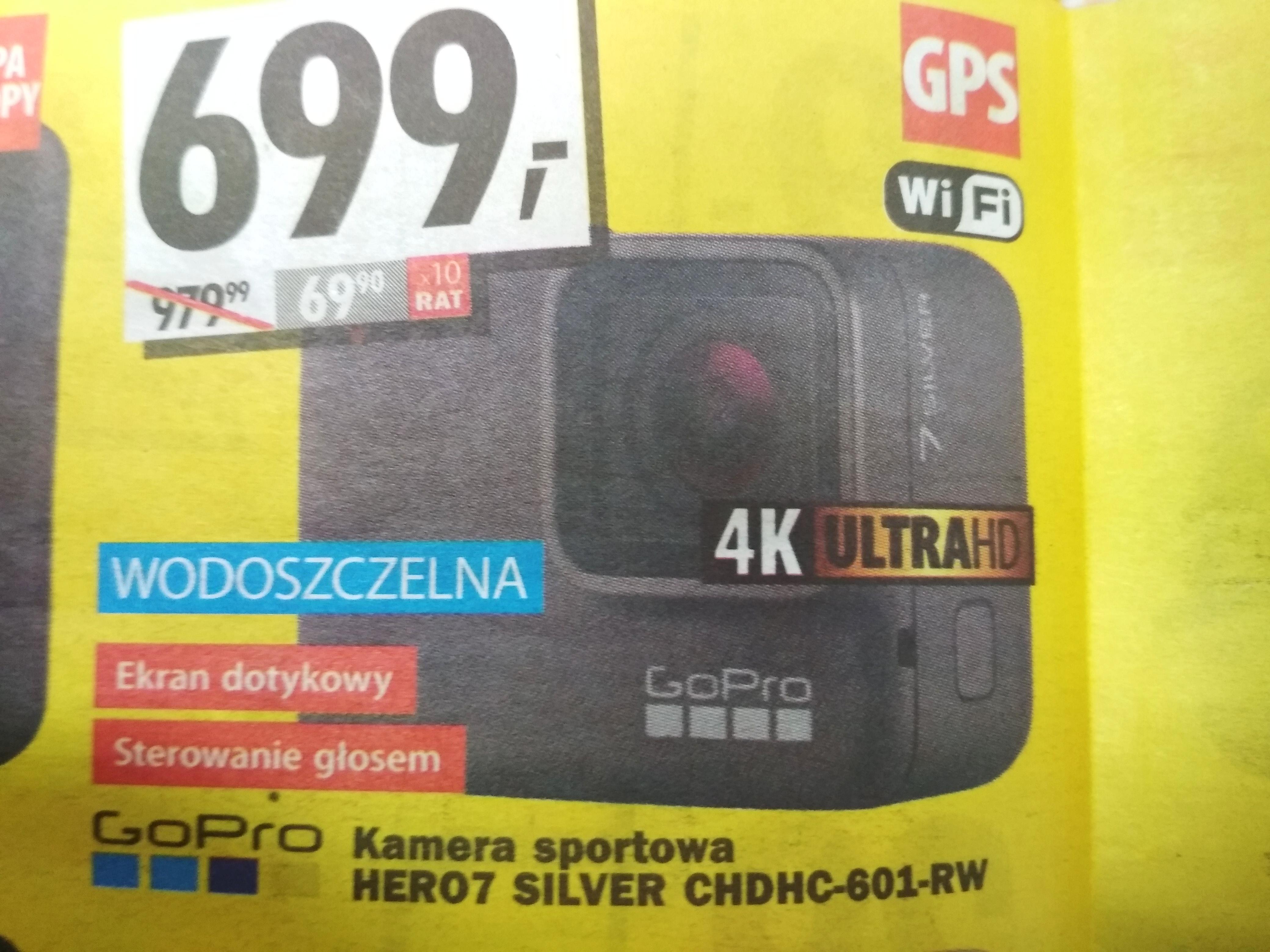 GoPro Hero 7 Silver (MediaExpert w Rzgowie pod Łodzią)
