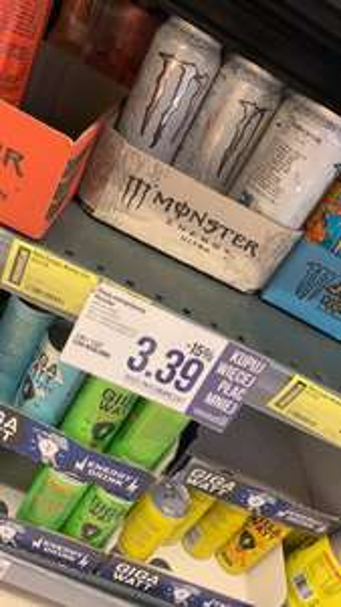 Monster w POLOmarket za 3,39 przy zakupie dwóch!