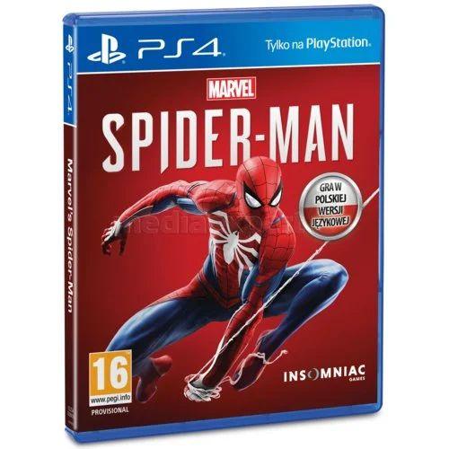 Gra Marvel's Spider-Man na PlayStation 4 (PS4) @Media Expert