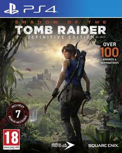 SHADOW OF THE TOMB RAIDER DEFINITIVE /PS4 /NOWA PL
