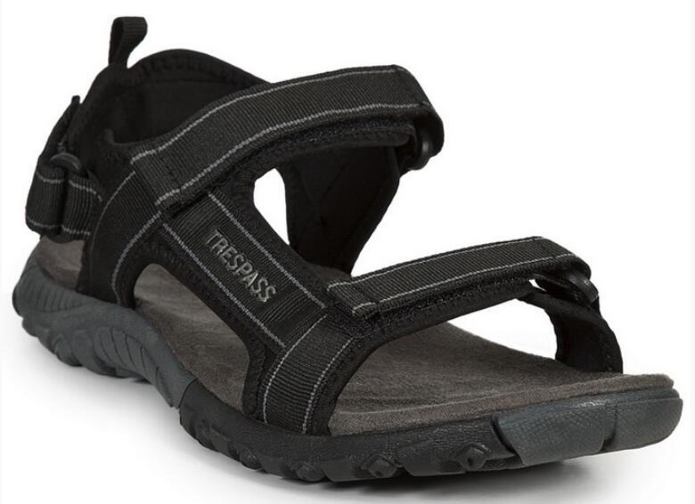 Męskie sandały ALDERLEY BLACK TRESPASS