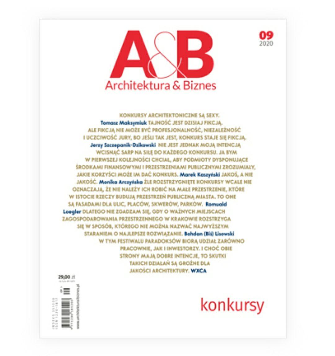 Darmowe wydanie miesięcznika architektura & biznes nr 09/2020