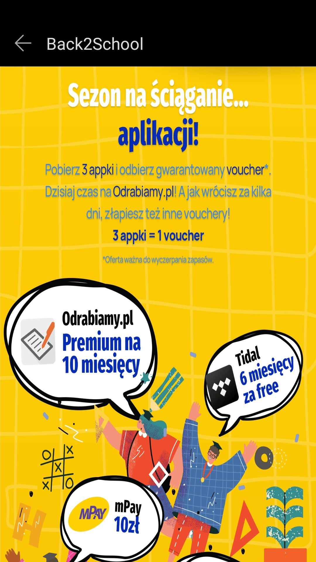 Odrabiamy.pl za darmo na 10 miesięcy