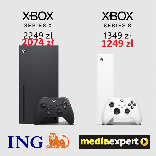Xbox Series X - możliwa za 2074 zł dla klientów ING