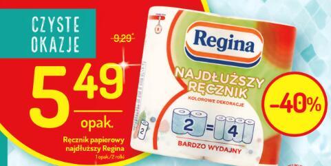 """Regina """"Najdłuższy ręcznik"""" 40% taniej"""