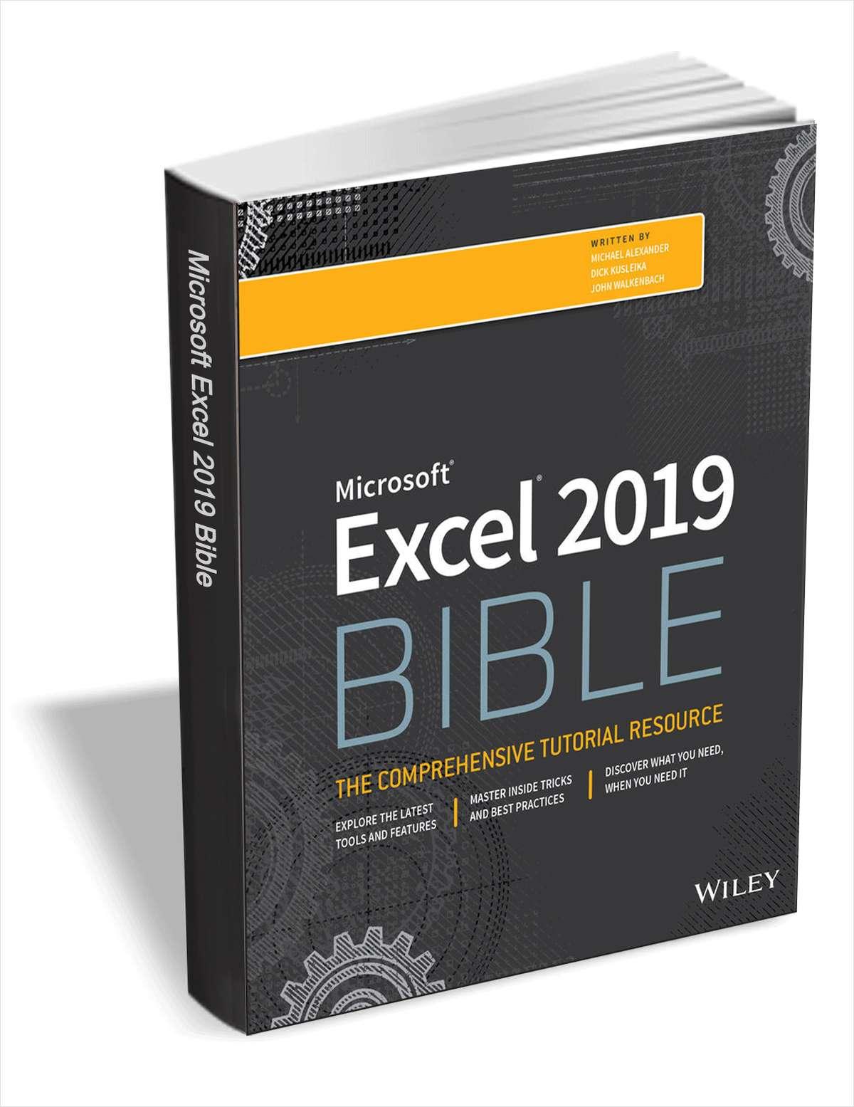 EXCEL 2019 - Biblia (ebook) - za darmoszke (wer. angielska)