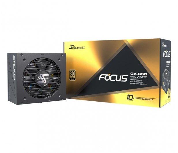 Seasonic FOCUS GX-650 80PLUS Gold 97,54€