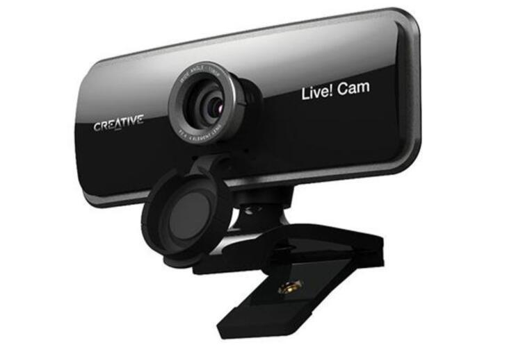 Creative Live! Cam Sync 1080p kamera z dwoma mikrofonami + SŁUCHAWKI!