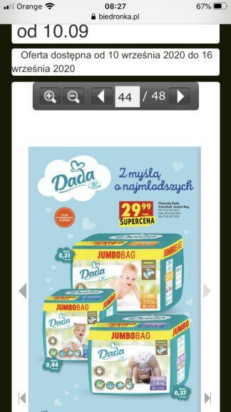 Dada extra soft jumbo bag