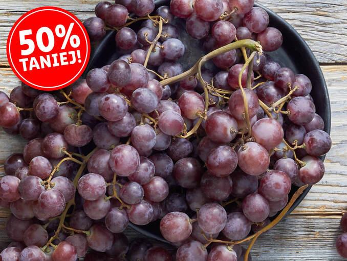 Winogrona czerwone-luzem