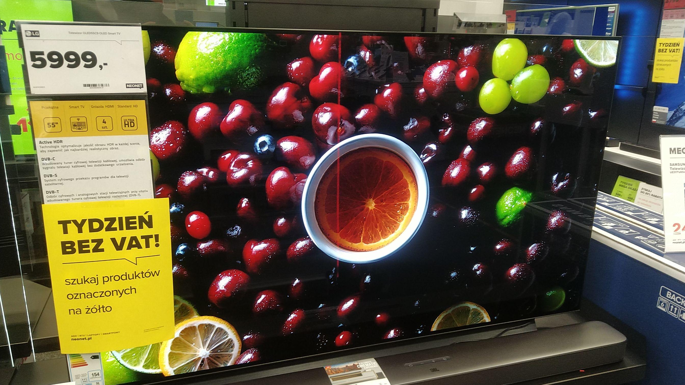 Telewizor LG OLED55C9 OLED Smart TV Neonet Lubliniec tydzień bez vat