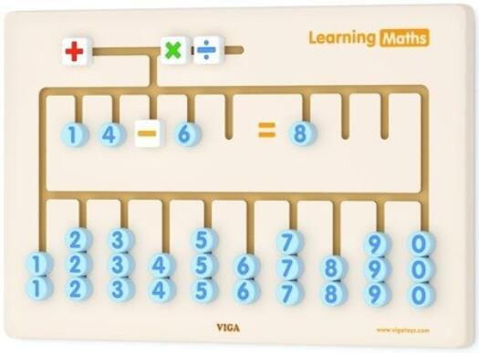 Sensoryczna tablica - nauka cyferek 50675 Viga