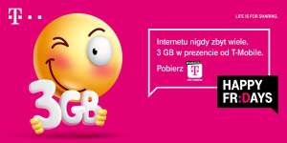 3 GB w prezencie od T-Mobile