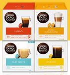 Kapsułki Nescafe Dolce Gusto - różne smaki