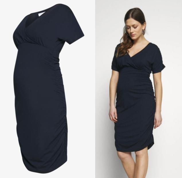 Ciążowa sukienka Mamalicious z dżerseju XS-L w @Zalando