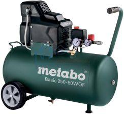 Sprężarka Kompresor olejowy Metabo Basic 250-50W