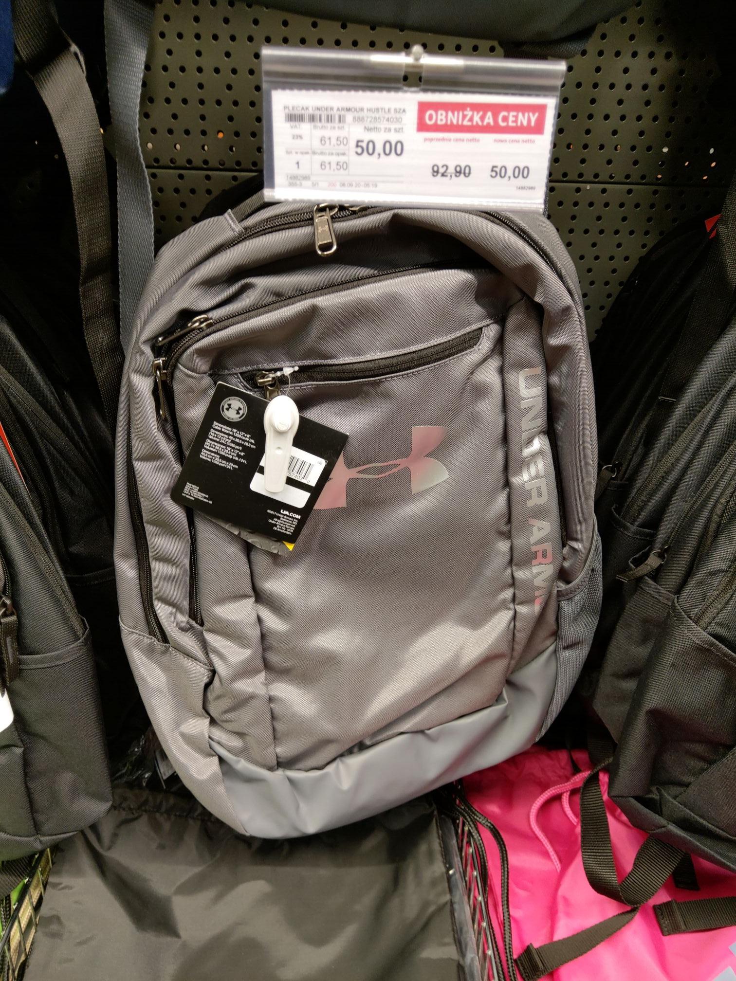 Selgros Białystok plecaki i torby Nike, adidas itp.