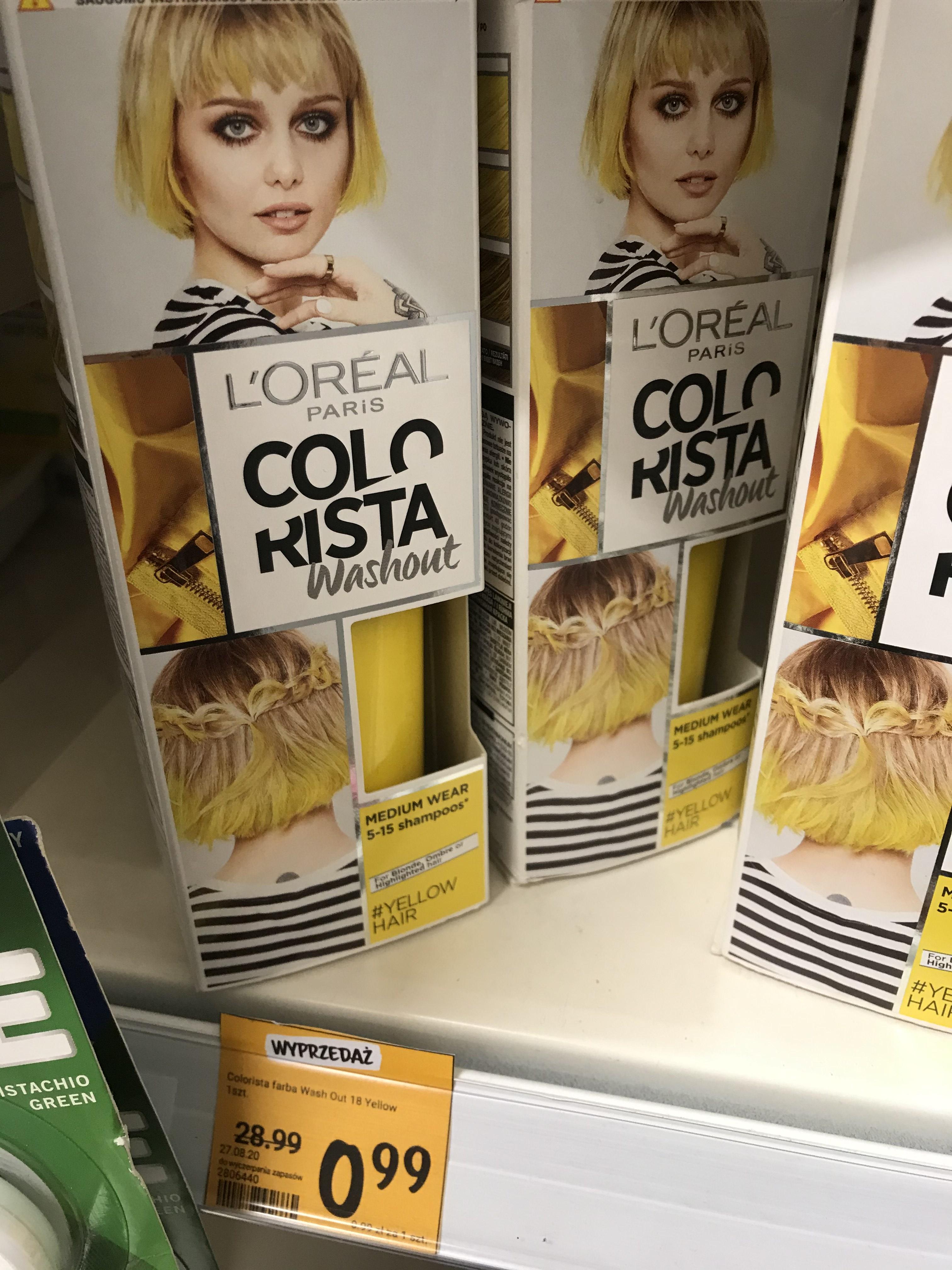 L'oreal Paris Colorista i farby do włosów ISANA Rossmann Rybnik