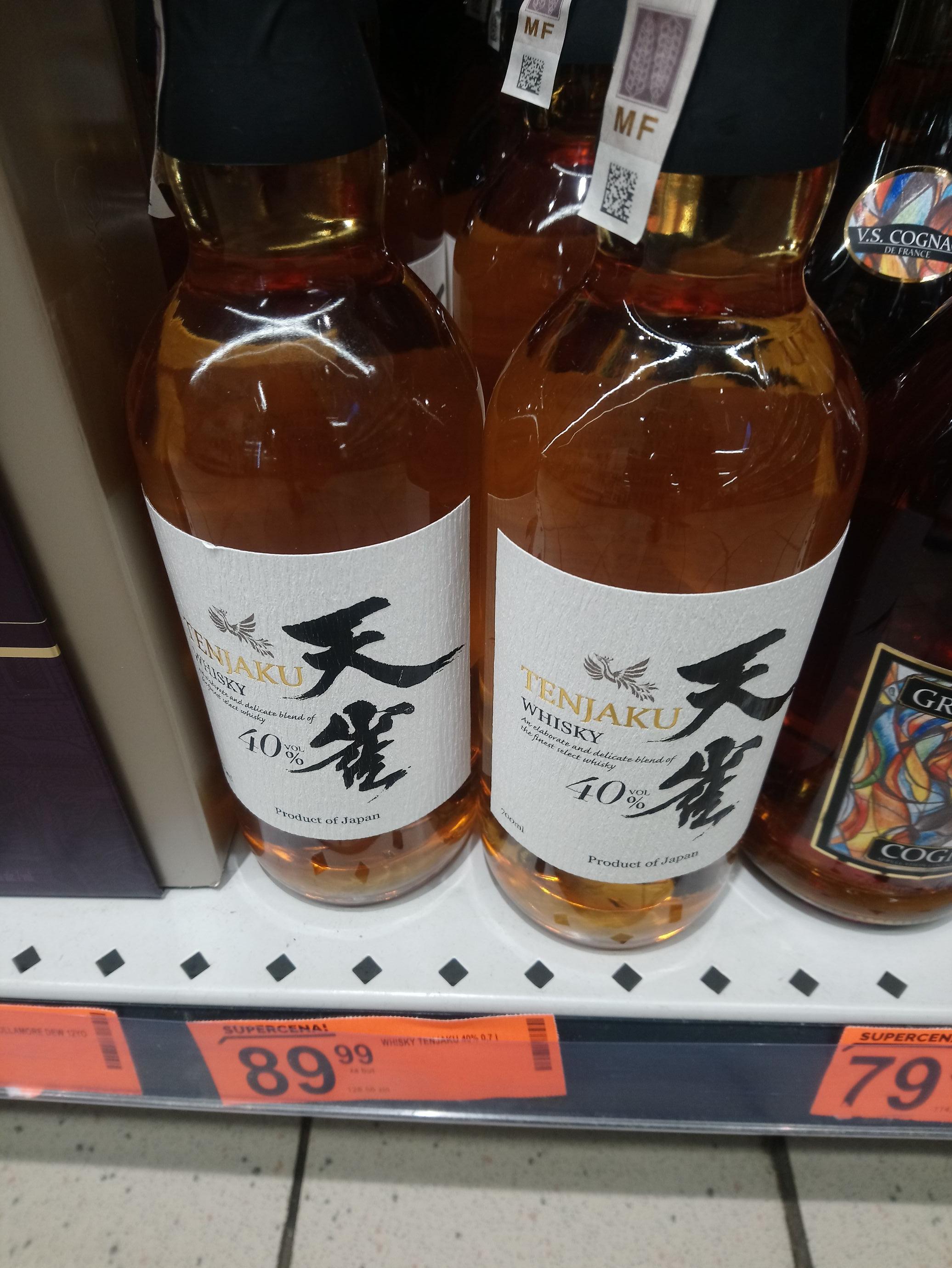 Whisky Japońska TENJAKU 0,7 l Biedronka