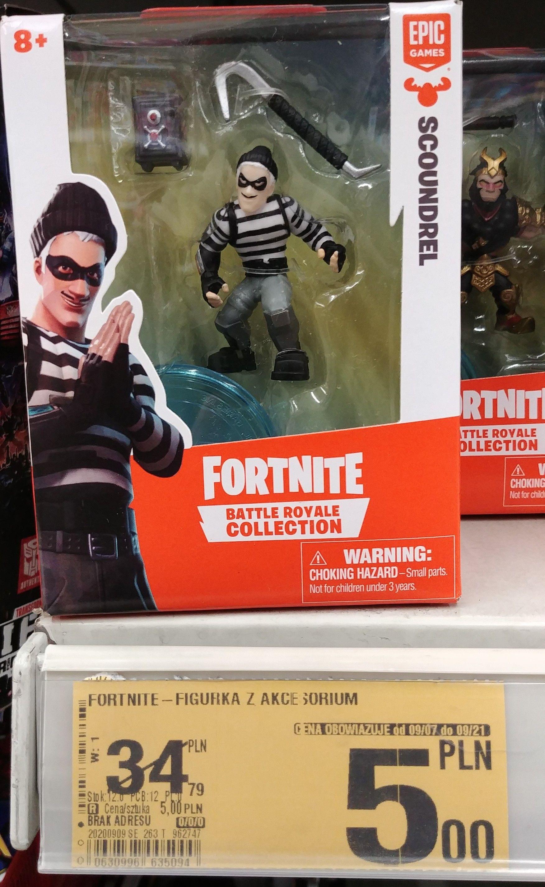 Figurka Fortnite Battle w Auchan Krokus Kraków