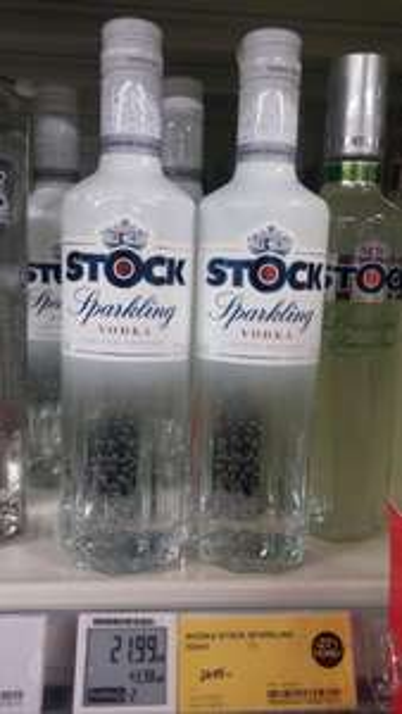 Wódka gazowana STOCK SPARKLING 0,5l @ Tesco