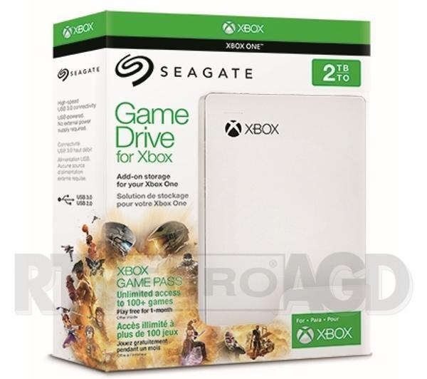 Dysk Seagate Game Drive 2TB do Xbox edycja Xbox Game Pass STEA2000417