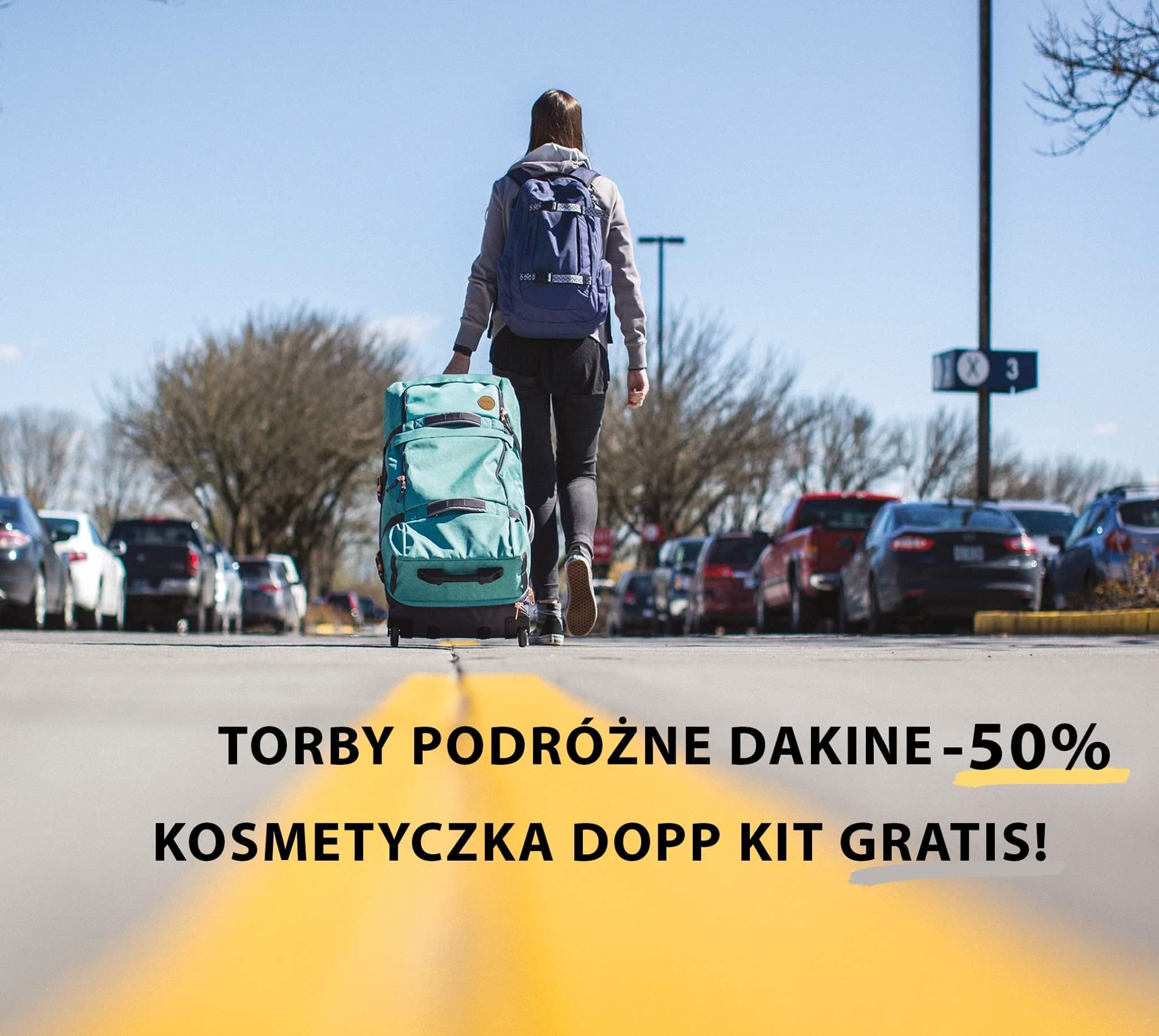 Torby podróżne Dakine -50%