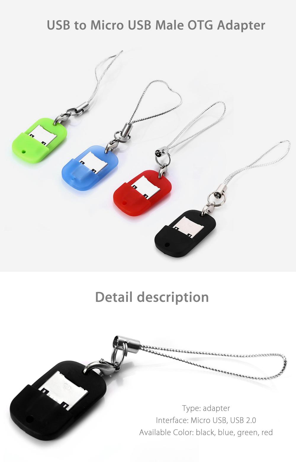OTG Adapter Micro USB - USB za 40 groszy @ Gearbest