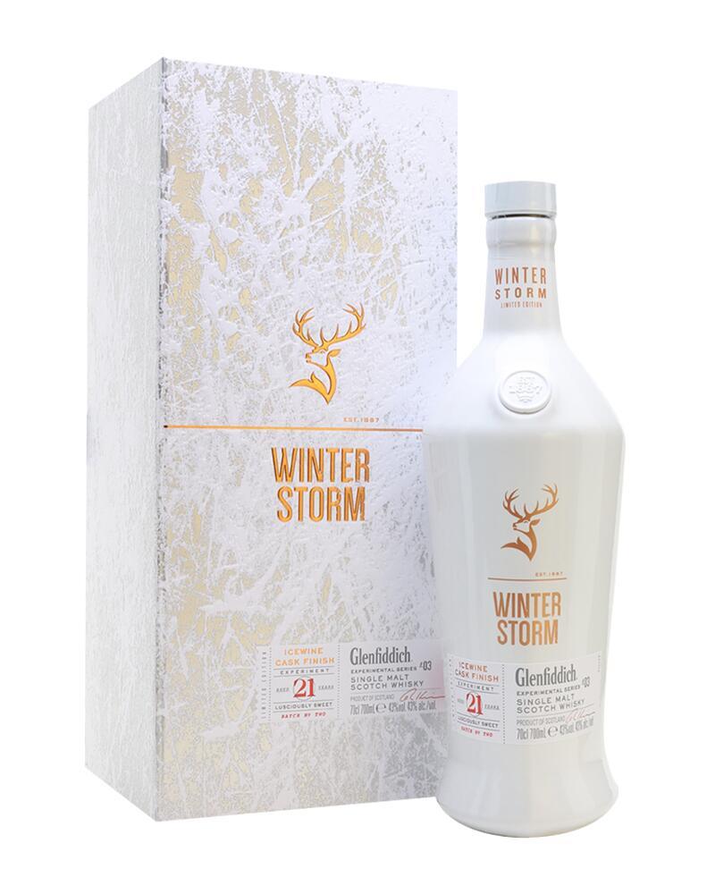 Whisky Glenfiddich Winter Storm 0,7l