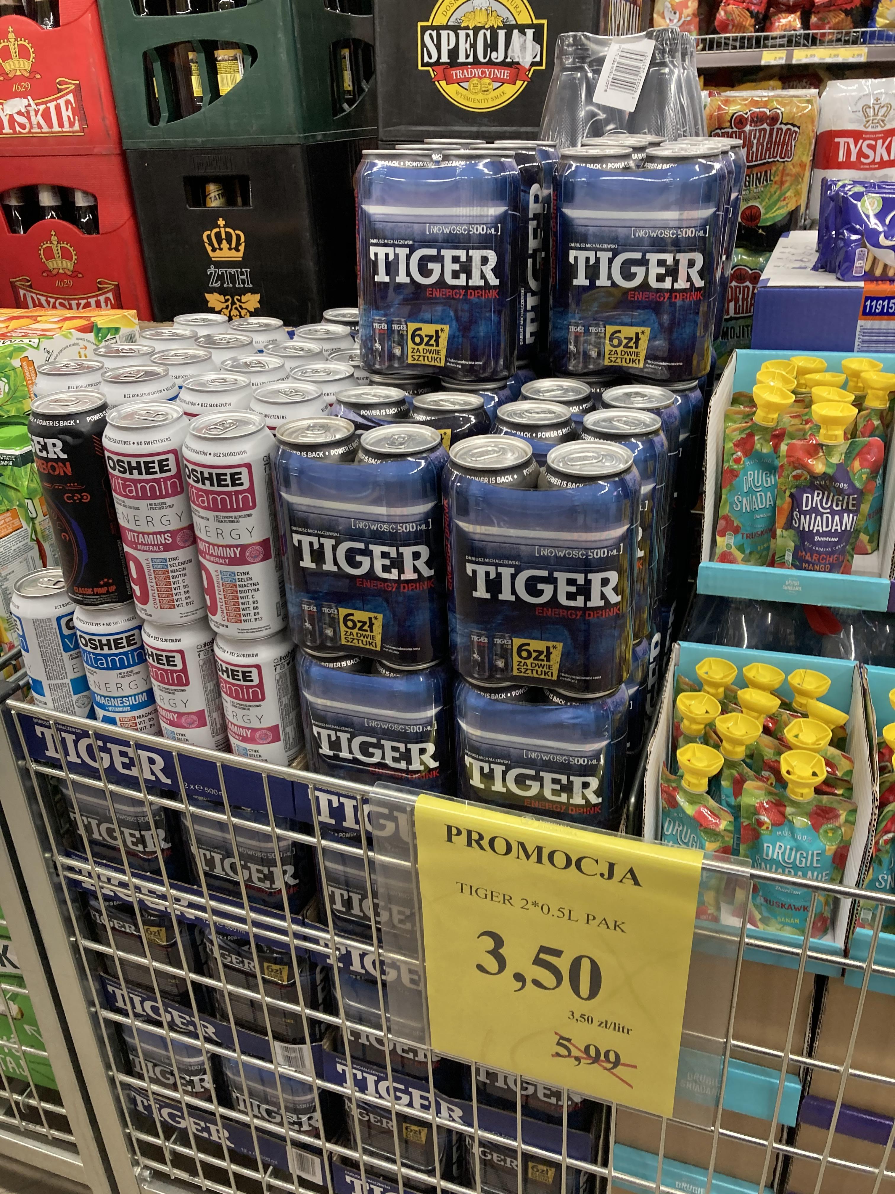 Dwupak Tiger 0,5 l @lewiatan olsztyn